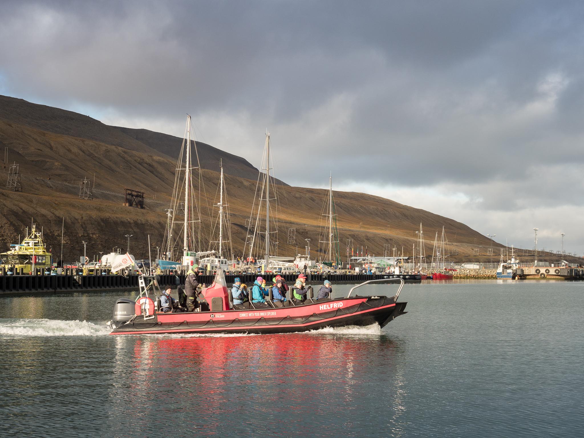 W drodze na Isfjord